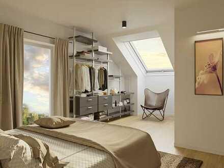 Wohnung 5: 2-Zimmer-Dachgeschoss-Wohnung mit herrlichem Ausblick!
