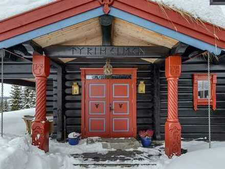 Schönes Ferien Holzhaus mit 13 - Zimmern in Gålå