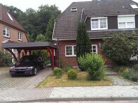 Doppelhaushälfte in Potsdam-Eiche mit direktem Waldzugang