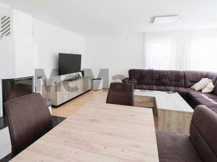 Idyllisch auf der Alb: Helle, geräumige 4-Zimmer-Wohnung mit Terrasse in guter Wohnlage