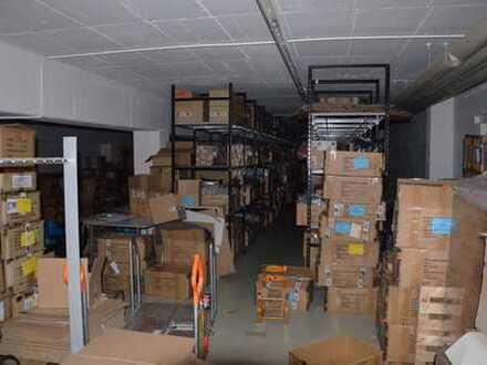 Lagerfläche mit Büro - Untergeschoss
