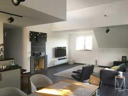 Großzügige und offene Maisonette-Wohnung mit fantastischem Ausblick