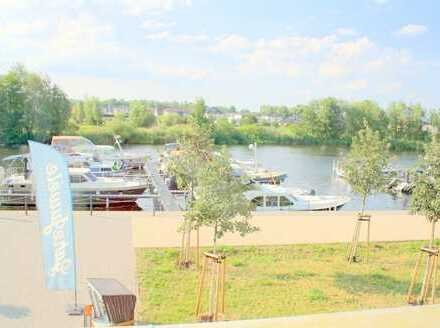 Neue 2-Raumwohnung in Werder, Wasserlage, edel ausgestattet, Balkon+Einbauküche, sofort einziehen!