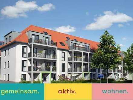 Servicewohnen im Alter - 3 Raum KDB, Balkon und Gemeinschaft