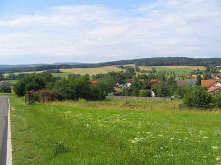 1344 qm Baugrundstück im NEUBAUGEBIET Eisfeld OT Harras