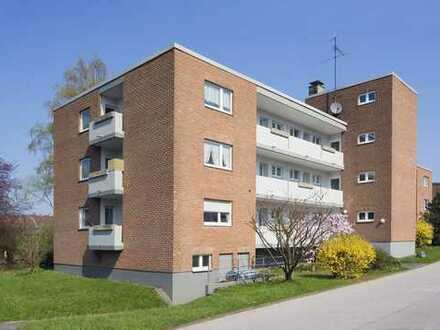 Kleine EG Wohnung mit Balkon ab sofort zu vermieten