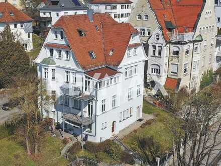 Keine Käuferprovision-2 Zi.-ETW-Jugendstilvilla-kleine Wohnanlage mit Schlossblick-Duale Hochschule