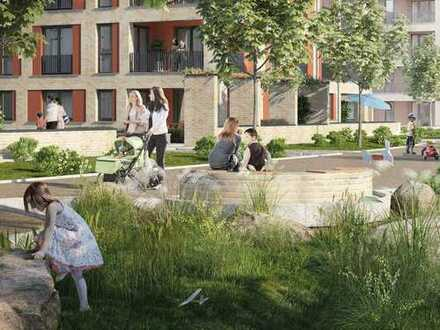 Platz für Familienmenschen in Ihrer 3,5-Zimmer-Wohnung mit Garten und Terrasse in Top-Lage