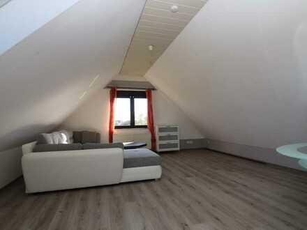 Modernisierte 2-Raum-DG-Wohnung mit Einbauküche in Rodgau
