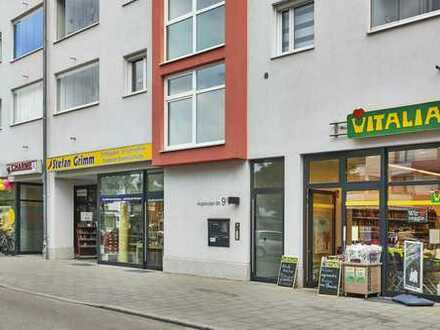 6 % Rendite - Ladengeschäft in sehr guter Lauflage im Stadtteilzentrum von Augsburg- Pfersee 