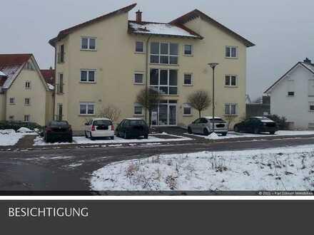 neuwertige und top gepflegte Wohnung 2 ZKB mit Balkon und Panormablick in Ottweiler-Saar
