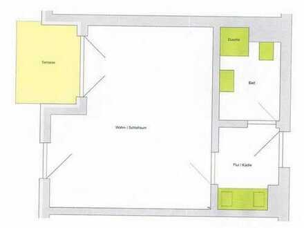 Zwei 1-Zimmer-Whg im Paket - ideal für Kapitalanleger
