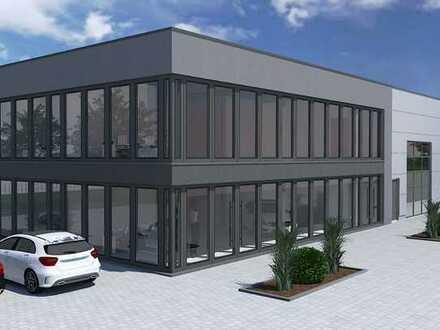 Modernes Büro im Neubau
