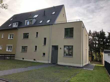Außergewöhnliche 4-Zimmer-Maisonette-Wohnung mit Dachterrasse und EBK in Küppersteg
