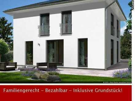 NEUBAU/ERSTBEZUG: MODERNE STADTVILLA MIT 152 m² WOHNFLÄCHE UND ZWEI VOLLGESCHOSSEN