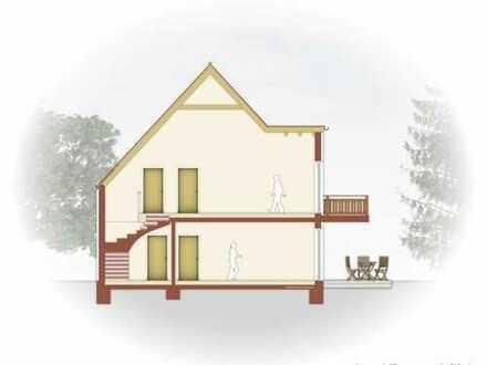 NEUBAU - OG- Wohnung im 2 Familienhaus, in ASCHAFFENBURG, ruhige Lage und in Mainnähe