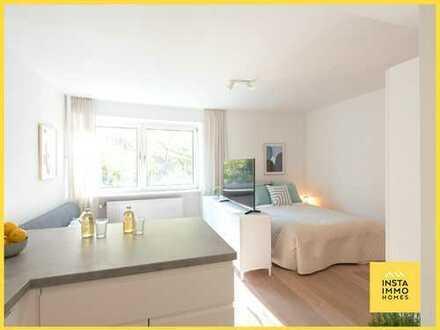 Frisch saniertes und möbliertes 1-Zimmerappartement in Winterhude (Nebenkostenpauschale inkl. WLAN)