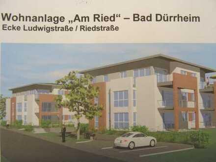Exklusive Neubau-Penthousewohnung in ruhiger Wohnlage von Bad Dürrheim