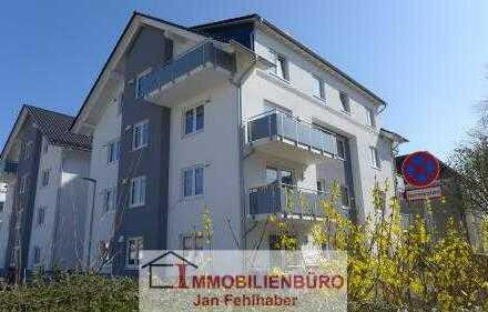Neuwertige 3-Zimmer-Wohnung mit Balkon und Stellplatz in Zentrumsnähe