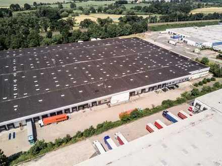 Logistik- Bürogebäude mit ausgezeichnetem Anschluss an das Autobahnnetz / provisionsfrei