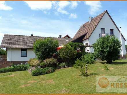 Hier finden Sie die Ruhe, die Sie brauchen! Hübsches Einfamilienwohnhaus in Sinntal-Breunings