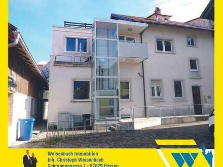 Praxis-/ Büro-/ Kanzleiräume in prominenter Lage des Füssener Stadtzentrums