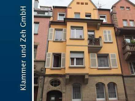 Zentral gelegene Etagenwohnung mit kleinem Balkon