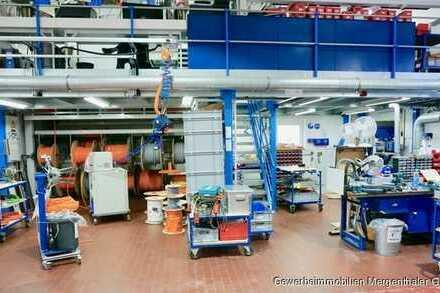 Gewerbehalle für Lager, Werkstatt, leichte Produktion, Bürofläche