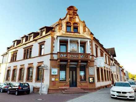 Außergewöhnliche Immobile - vielseitige Nutzungsmöglichkeiten - im Herzen von Karlsruhe-Grötzingen