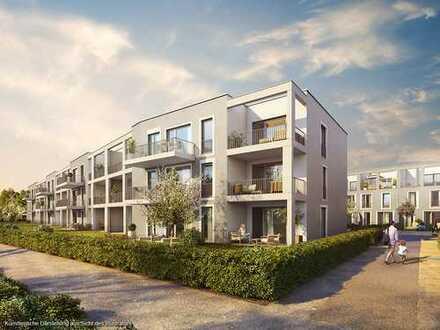 Traumhafte 3-Zimmer-Etagenwohnung mit ca. 31 m² großem Wohn-Ess-Koch-Bereich und Südwest-Loggia