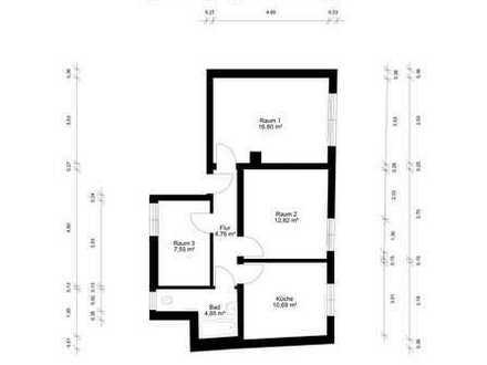Schöne drei Zimmer Wohnung in Darmstadt-Dieburg (Kreis), Groß-Umstadt OT Heubach zu vermieten