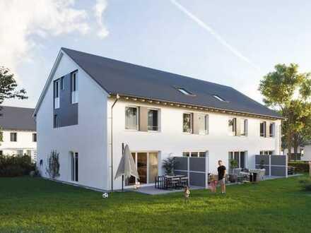 Baubeginn ist erfolgt !!! Reihenendhaus in Ladenburg inkl. Grundstück & Terrasse
