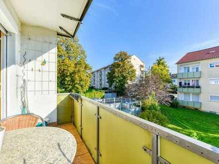 "+++ bequem & grün - Nahe ""Kaufpark-Freiberg"" & Tapachtal - 1.OG mit Ost-Balkon +++"