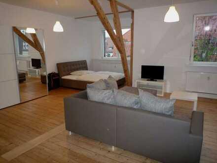 Vollmöbliertes DG Loft Appartment in der Neckarstadt Ost/ Nähe Klinikum