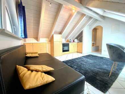 Vollmöblierte helle 2- Zimmerwohnung in ruhiger Lage von Teningen-Heimbach.