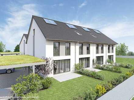 Mit eigenem Garten. Neubau-Reihenmittelhaus in Endingen