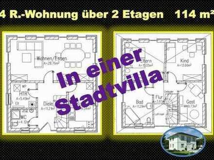 wohnen in unserer Stadtvilla - 114 m2 - viel Platz - einfach nur schön