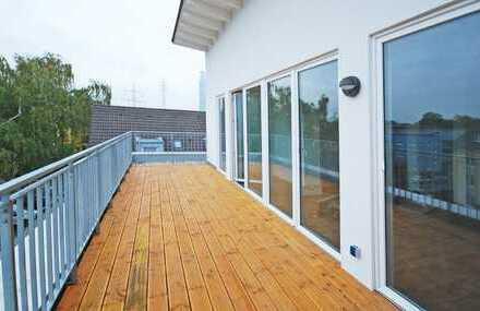 Penthouse mit exklusiver Dachterrasse und bis zu 4,10 m hohen Decken!