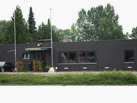 zentrale Halle/Büro/Lager/Produktion, eigener Eingang von Halle zu Büro Einfahrtstor 5 x 3,8 m bxh