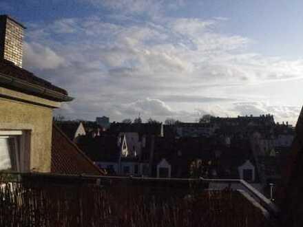 Helle 3 ZKB-DG-Wohnung – über den Dächern Augsburgs