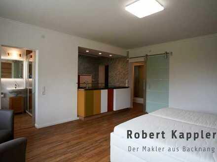 Schöne 1-Zimmer-Wohnung (57 m²) in Traumlage I robert-kappler.de I Der Makler aus Backnang.