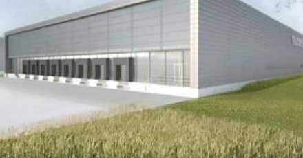 """BAUMÜLLER & CO."" 3.000 m² NEUBAU Logistikfläche / TOP Lage Nähe A 656"