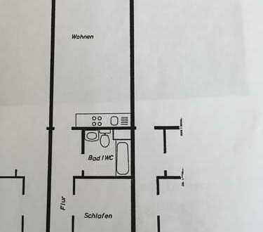 Modernisierte 2-Zimmer-Wohnung mit Balkon und Einbauküche in Weiden, Köln