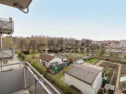 Alles unter einem Dach: Neuwertige 4-Zi.-ETW mit West-Balkon und Nahversorgung im Gebäude in Bautzen