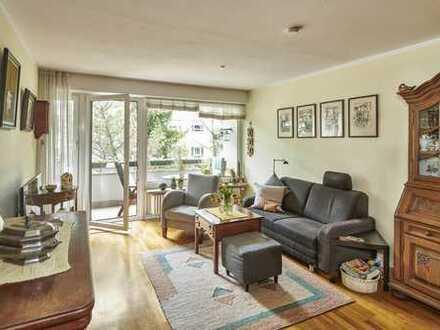 Forstenried – Helle und freundliche 3-Zimmer-Wohnung mit Südbalkon