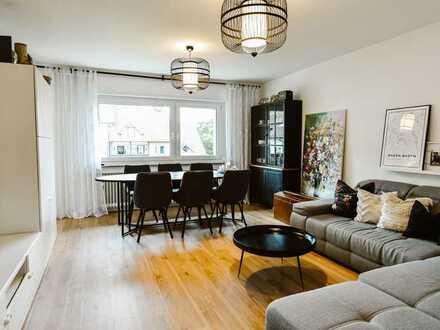 Schöne 3-Zimmer Wohnung mit Bankon und Blick ins Grüne