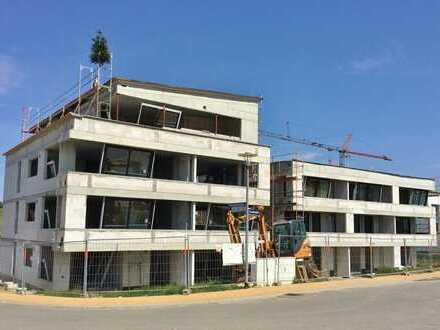 NEUBAU: 2-Zimmer-Seniorenwohnung (ETW Nr. 8) mit toller Aussicht!