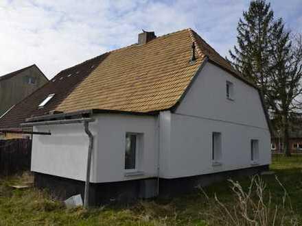 schöne kleine sanierte Doppelhaushälfte auf überschaubarem Grundstück in Semlow b. Ribnitz-Damgarten