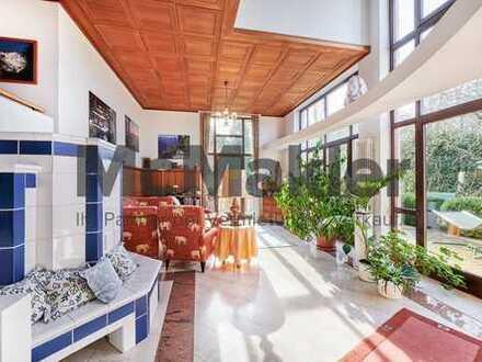 Repräsentatives EFH mit Bürofläche, Garten und Loggia - Wohnen und Arbeiten komfortabel verbinden