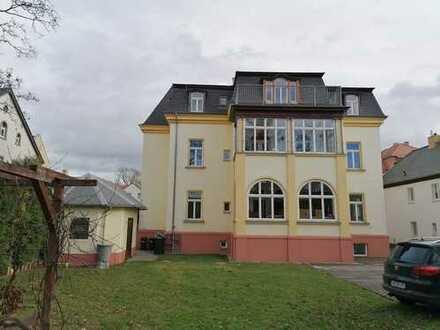Markkleeberg...Dachgeschoss-Wohnung mit Terrasse in Villa!